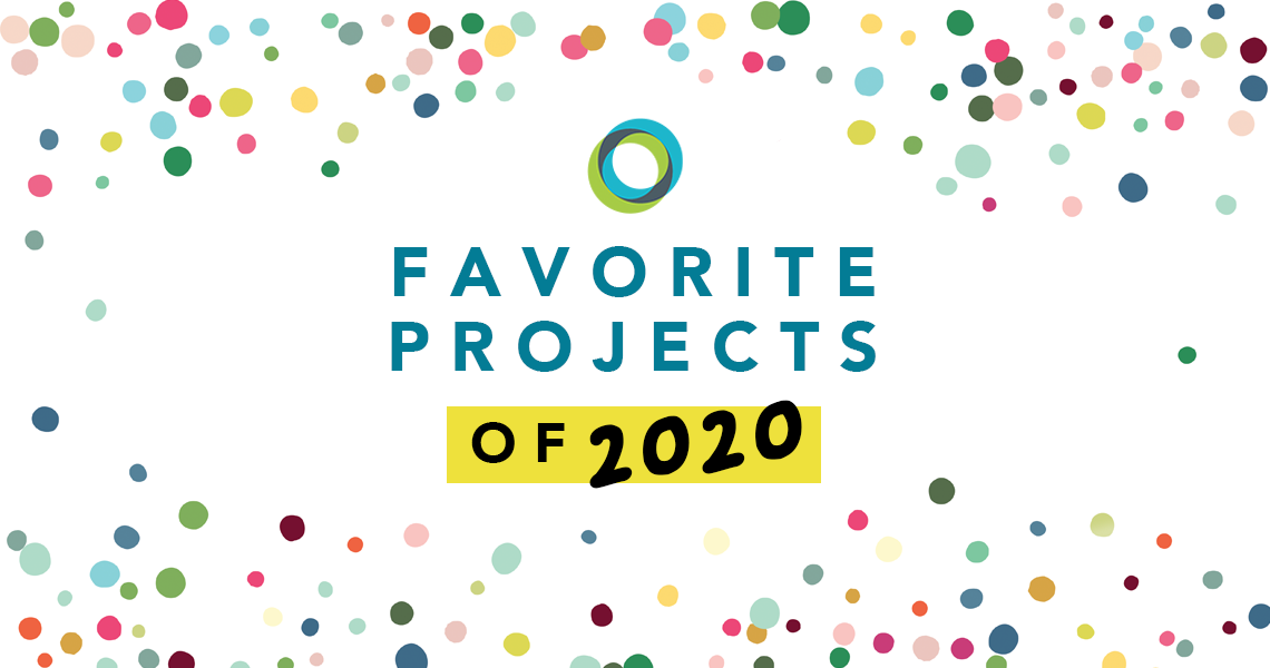 favorite projects of 2020 with PBLWorks logo