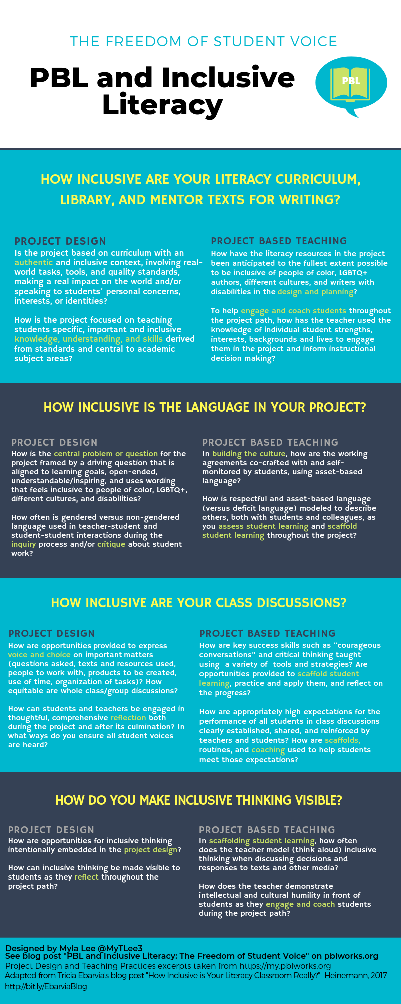 PBL and Inclusive Literacy