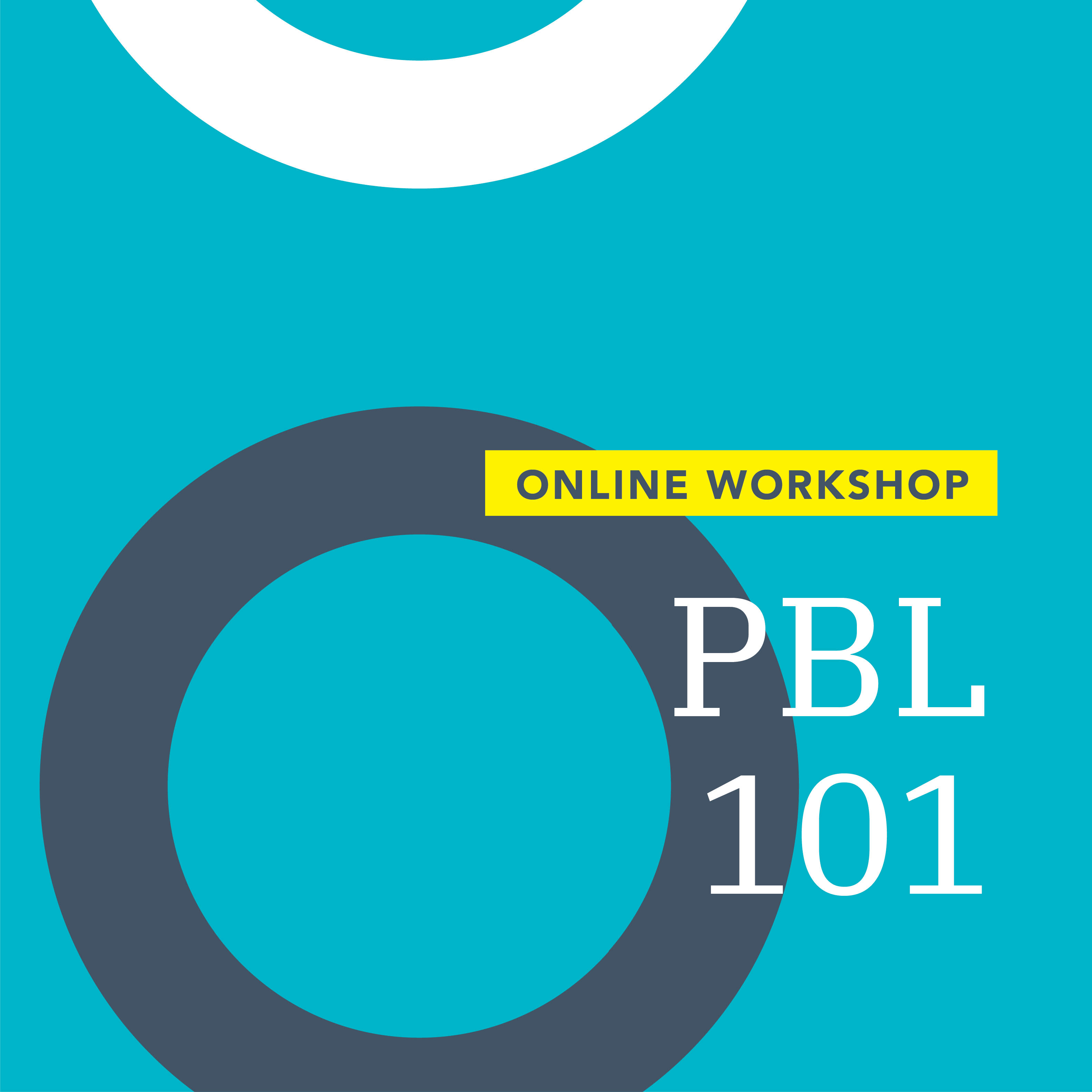 PBL 101 Workshop graphic
