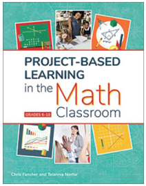 book cover PBL in the Math Classroom