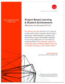 PBL Research Brief