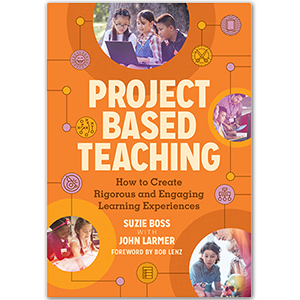 Cover of Project Based Teaching book