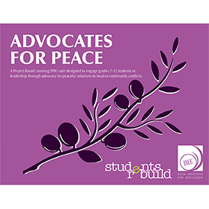 logo for advocates for peace