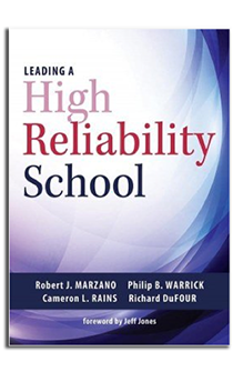 cover of book Leading a High Reliability School