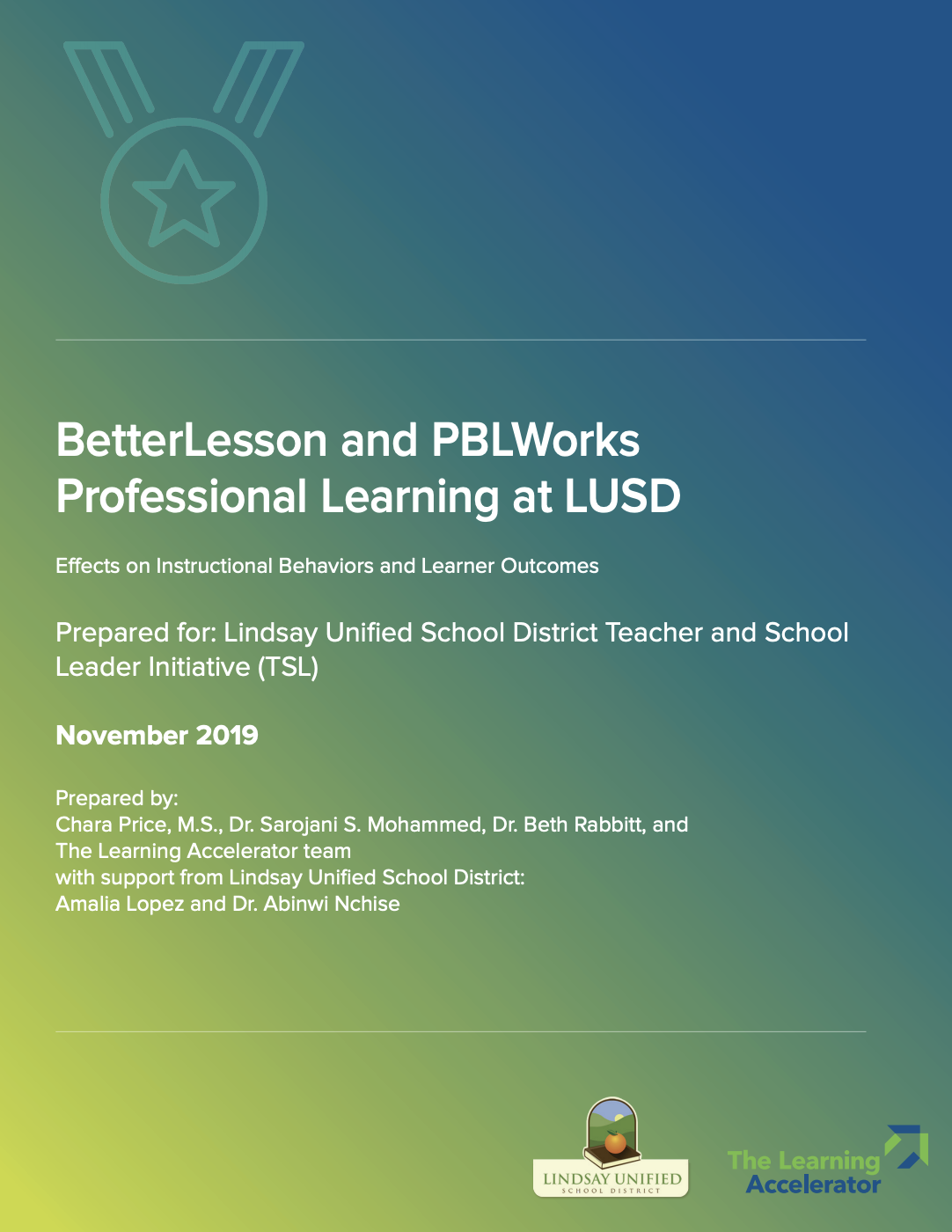 cover of Lindsay USD Research Report
