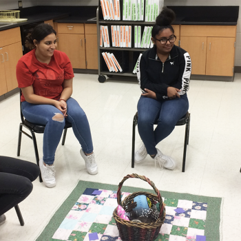 Students in a Restorative Circle