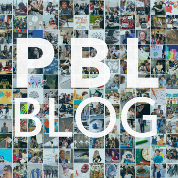 grid of photos that says PBL Blog